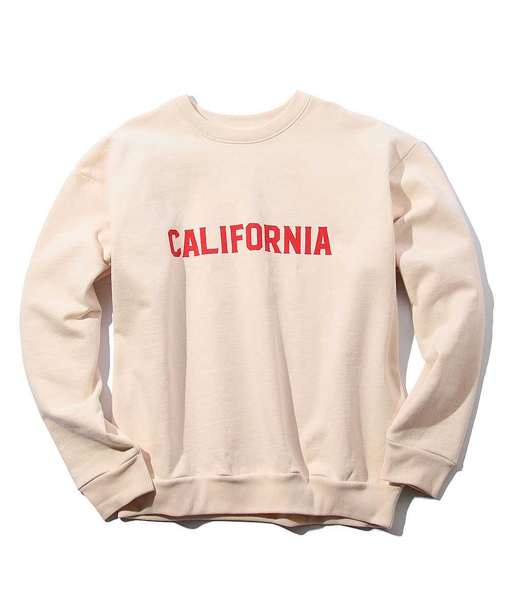 """""""カリフォルニア""""スウェットシャツ"""