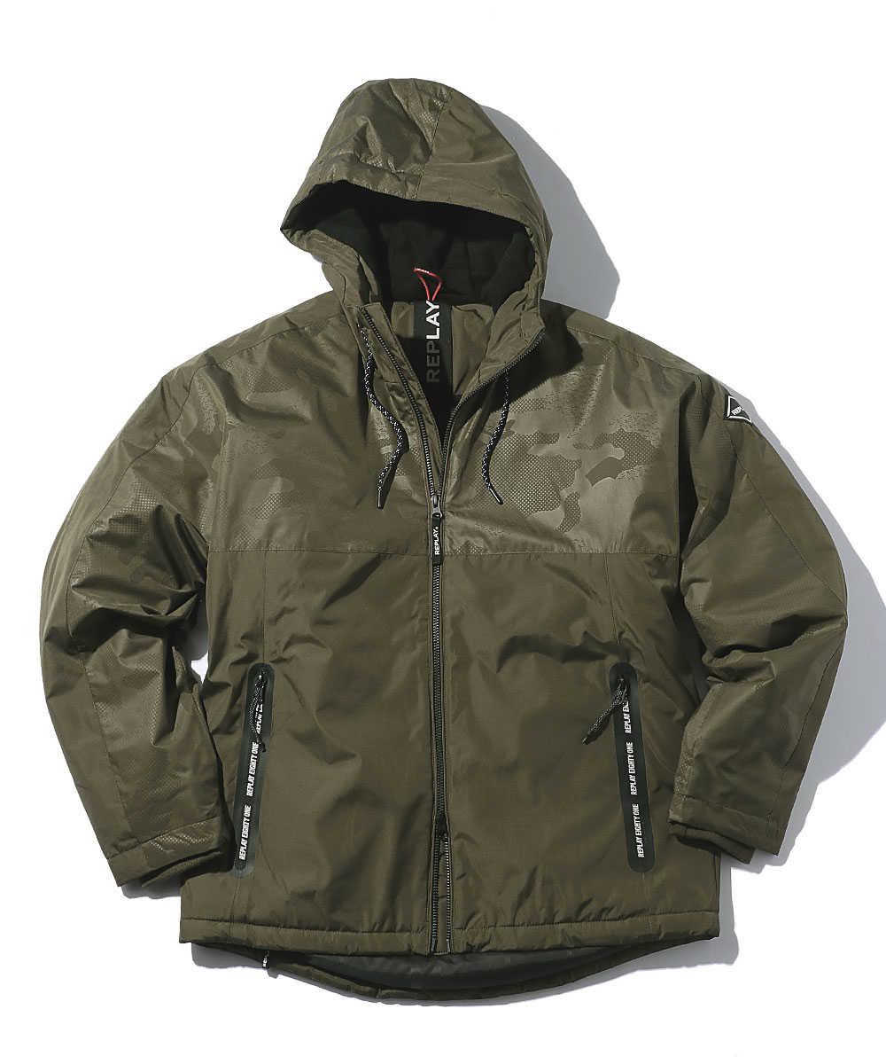 ファインポリ 中綿入りジャケット