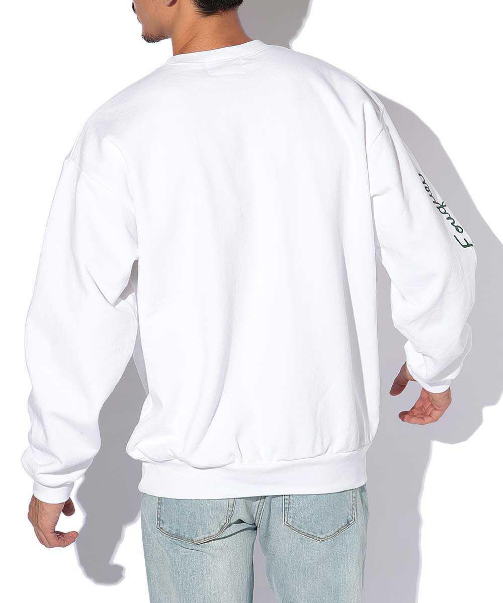 プリントスウェットシャツ