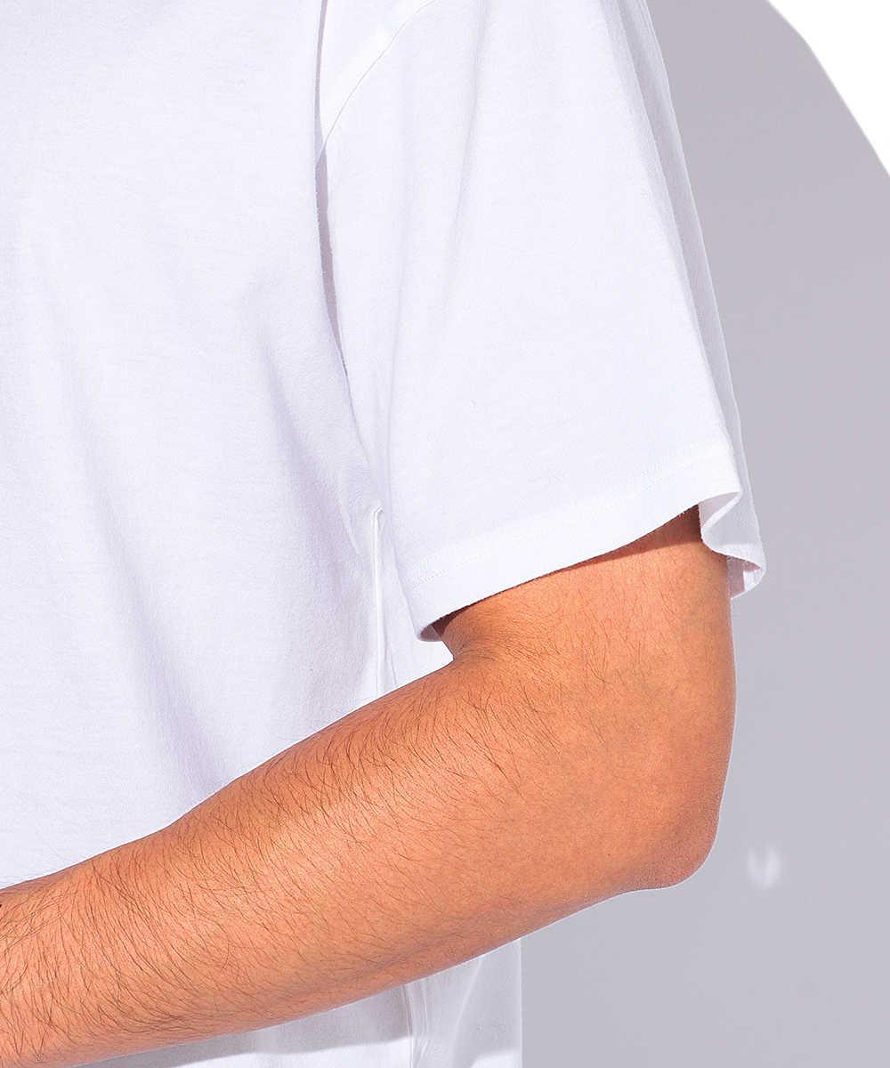 2パックコットンクルーネックTシャツ