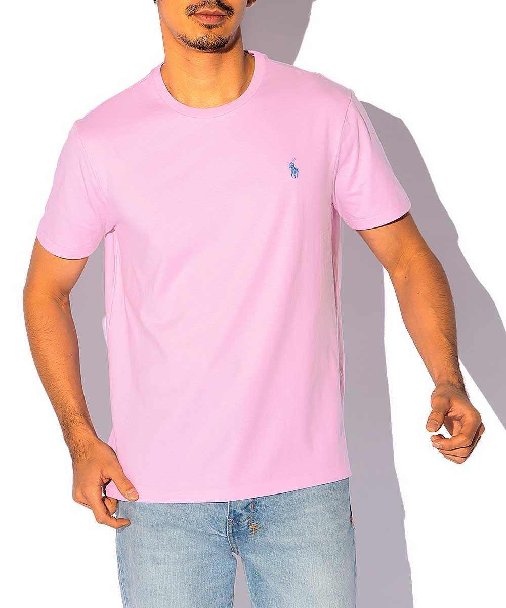 ウォッシュドクルーネックTシャツ