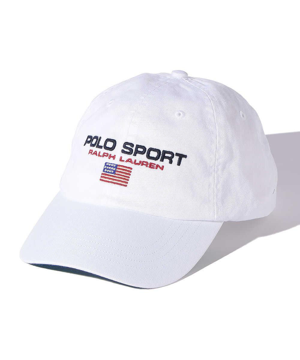 """""""ポロ スポーツ""""ロゴ刺繍キャップ"""