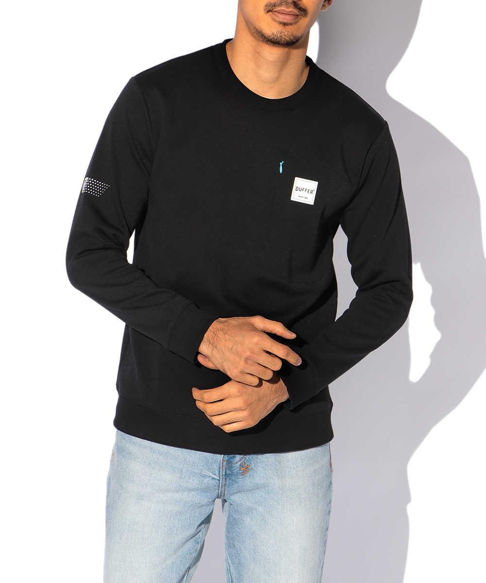 【ブラックレーベル】 スムーススウェットシャツ
