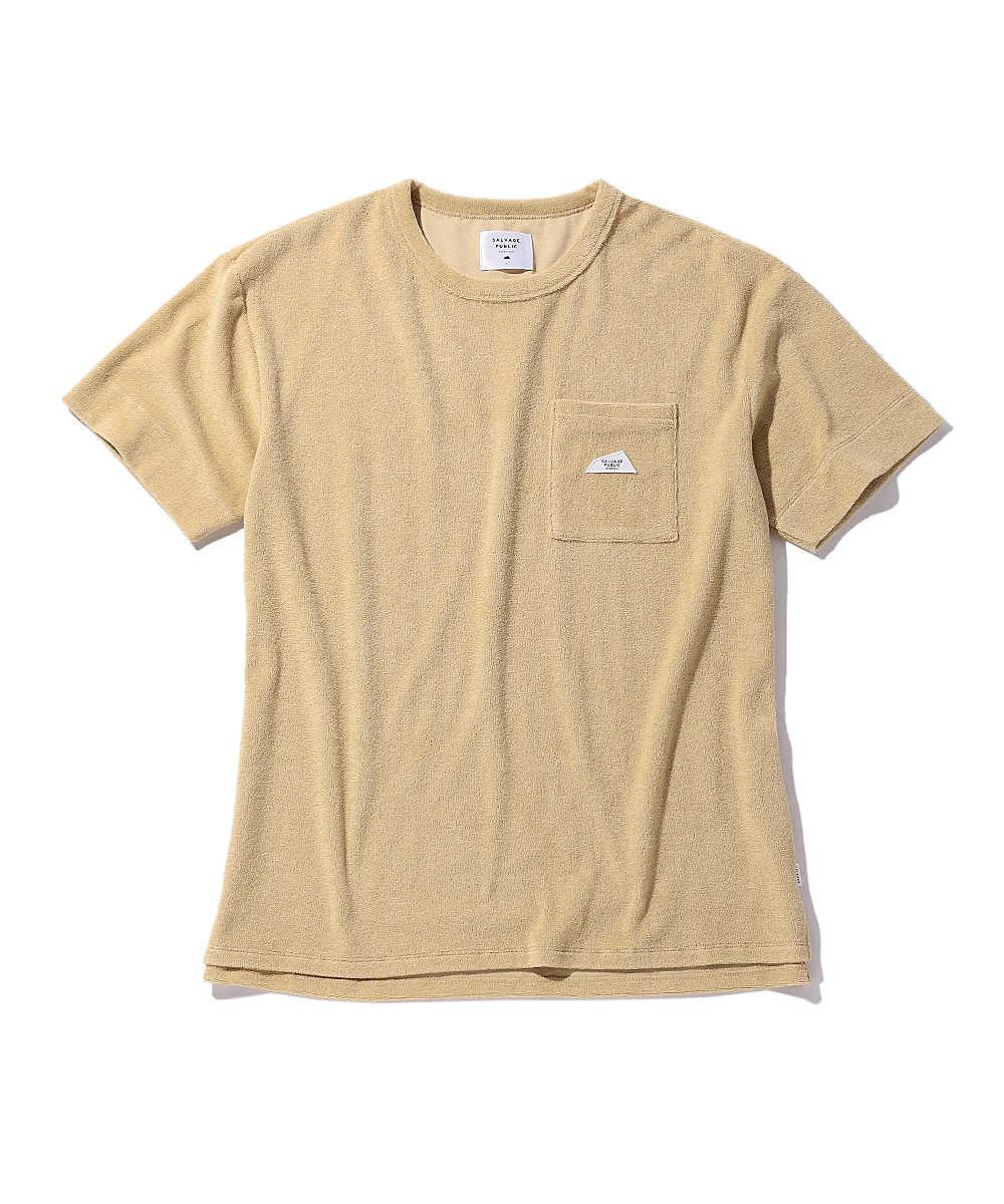 【3月中旬入荷予定別注・限定商品】ポケットパイルTシャツ
