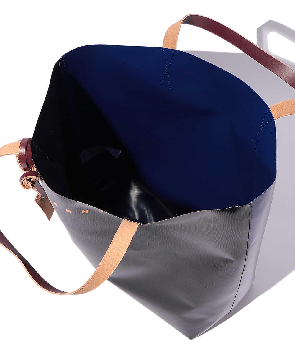 バイカラートートバッグ