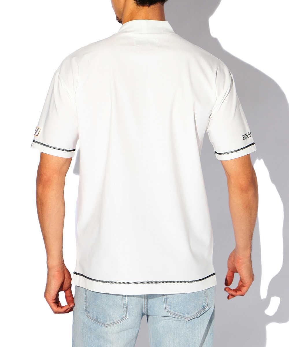 """""""A/S/C""""モックネックTシャツ"""