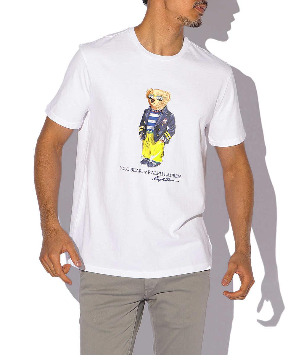 """""""ポロベア""""クルーネックTシャツ"""
