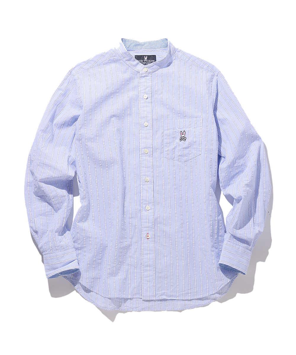 バンドカラーサッカーシャツ