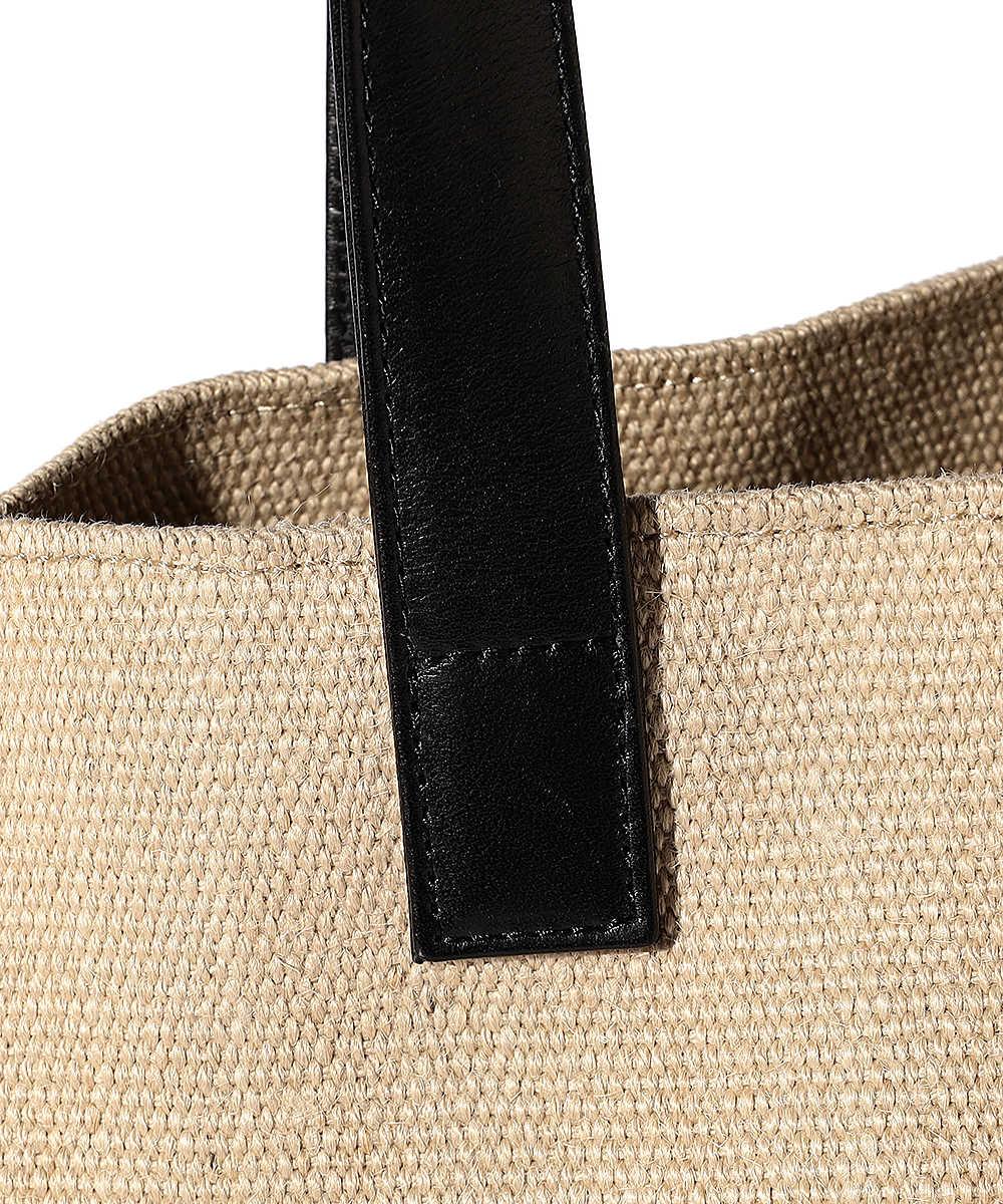 ロゴ刺繍トートバッグ