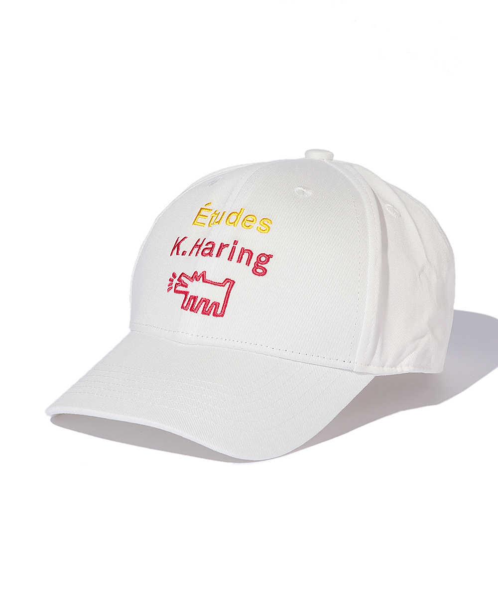 エチュード×キース・ヘリング ロゴキャップ