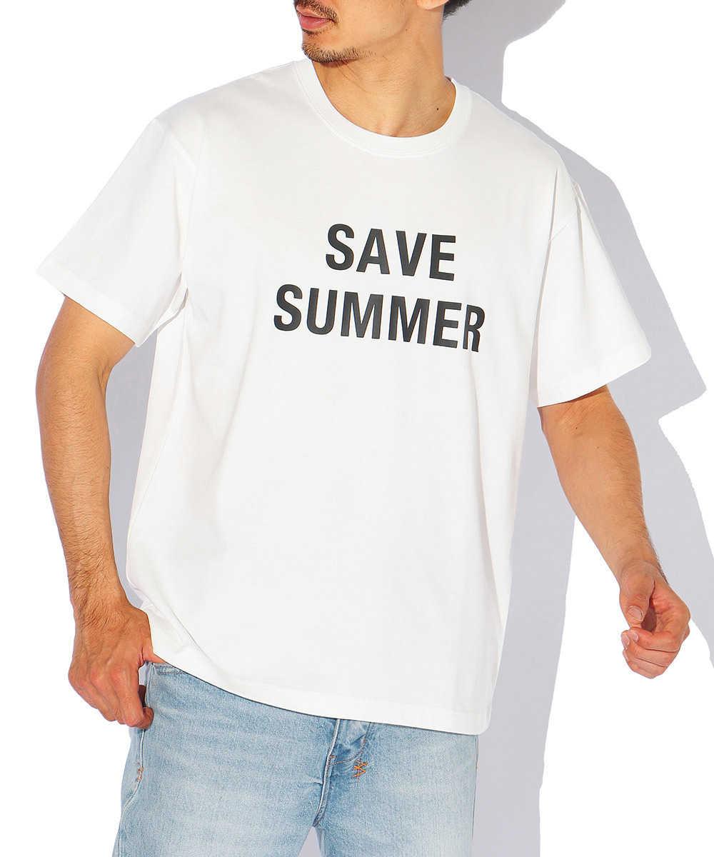 オーガニックコットンクルーネックTシャツ