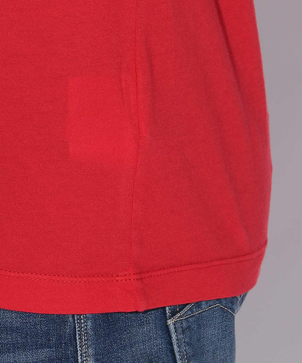 グラデーションロゴクルーネックTシャツ