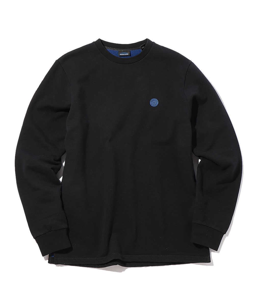 ワンポイントロゴスウェットシャツ