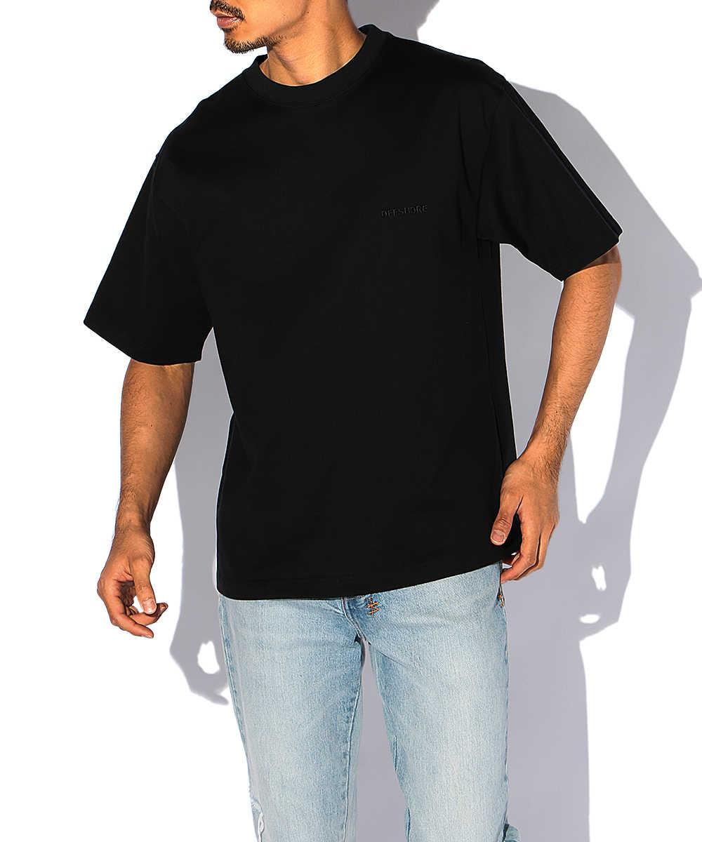 ナンバー刺繍クルーネックTシャツ