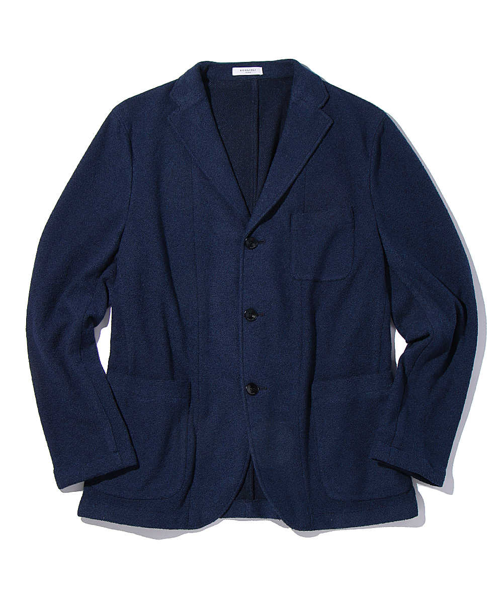 パイルテイラードジャケット