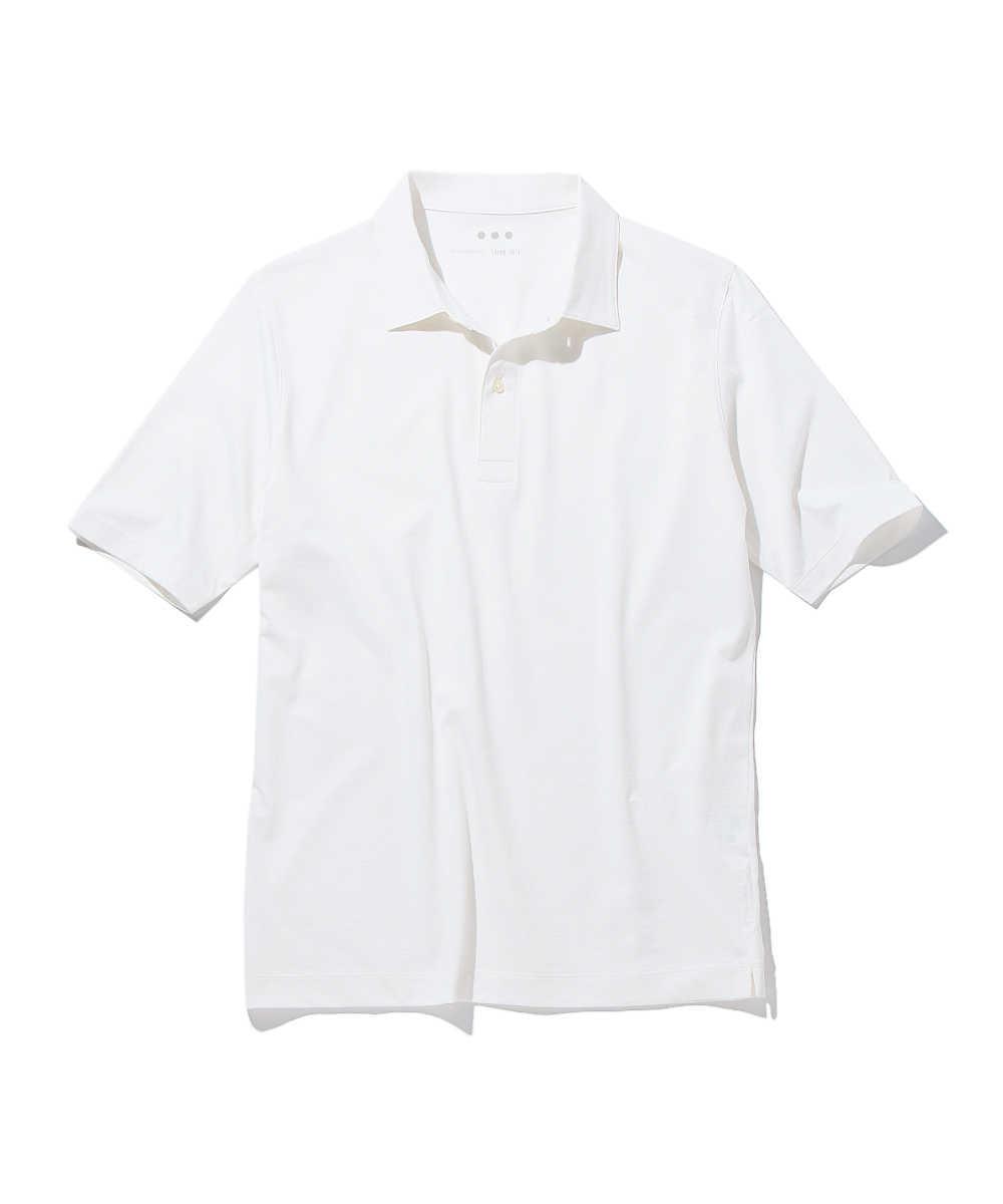 コットンカシミヤポロシャツ