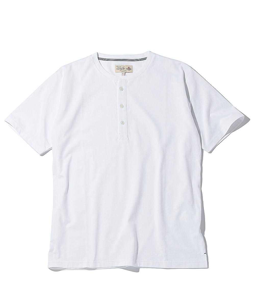 クールマックスヘンリーネックTシャツ