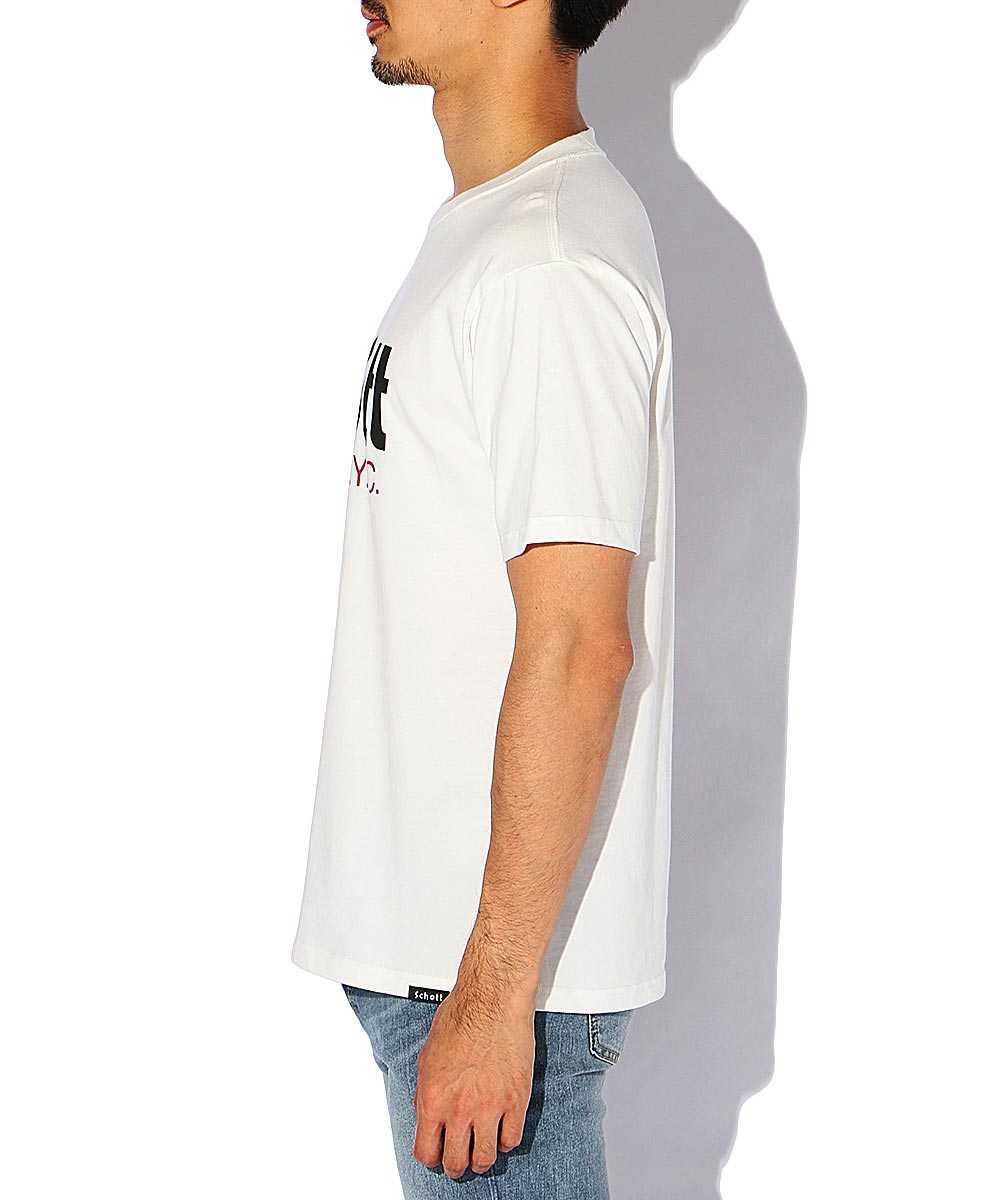 ベーシックロゴクルーネックTシャツ