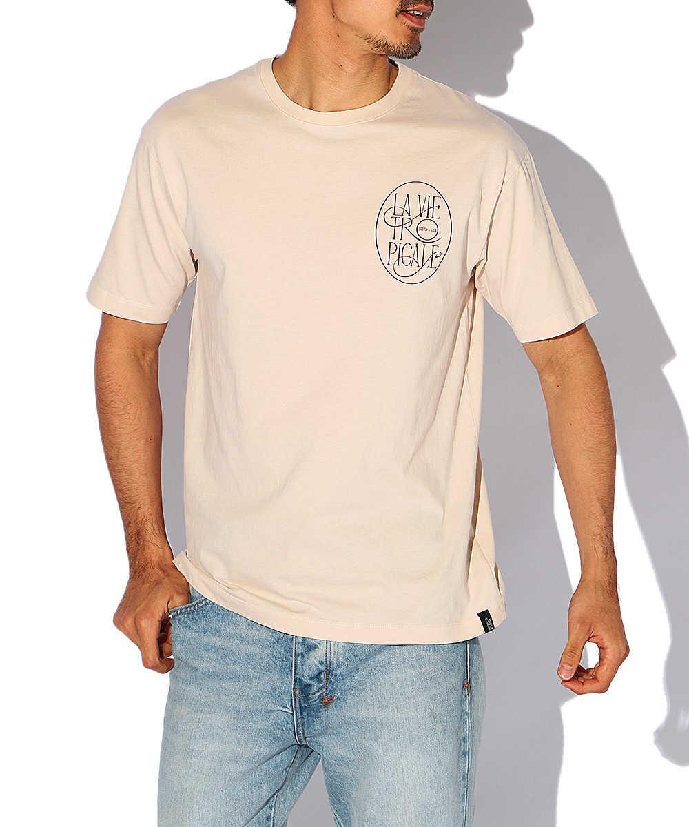 アートワークプリントクルーネックTシャツ