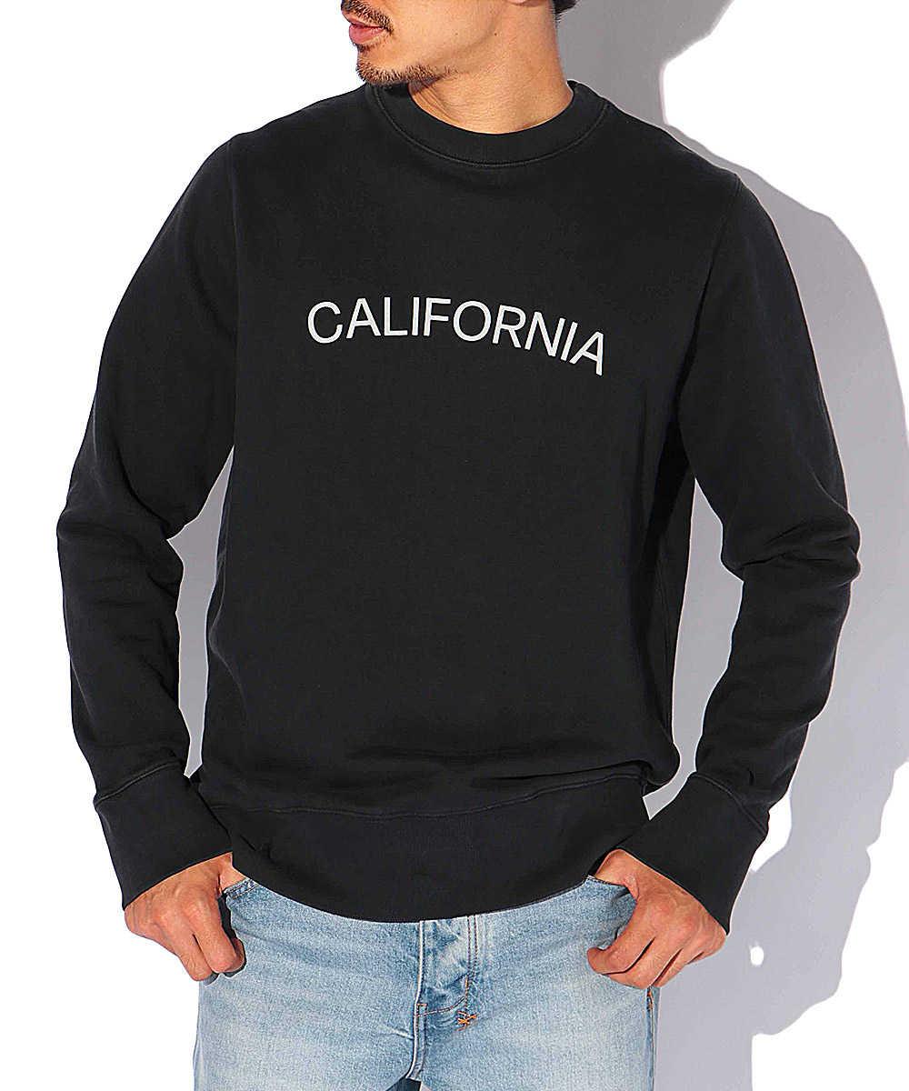 """【限定商品】""""カリフォルニア""""アーチロゴスウェットシャツ"""
