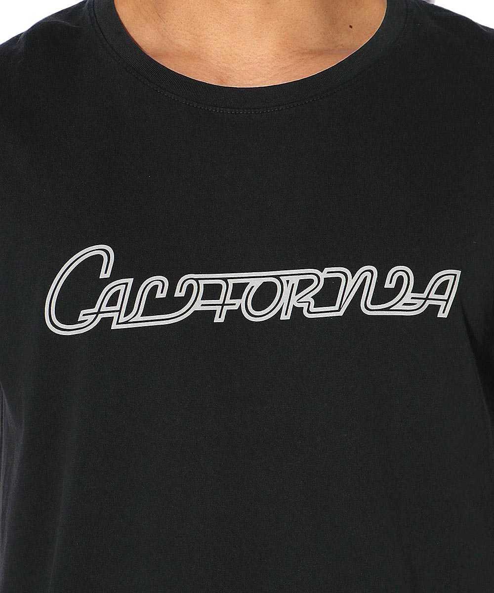 """【限定商品】""""カリフォルニア""""プリントクルーネックTシャツ"""