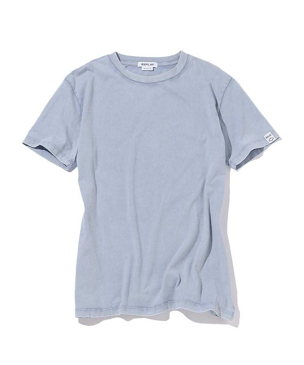 ガーメントダイドオーガニックコットンTシャツ