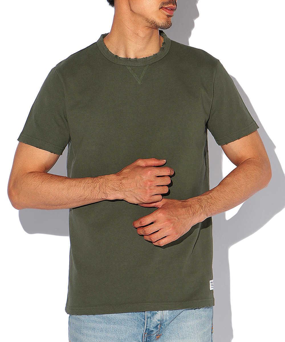 ピースダイドクルーネックTシャツ