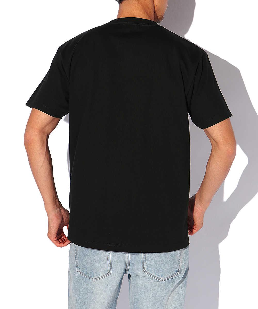 ディスコロゴクルーネックTシャツ