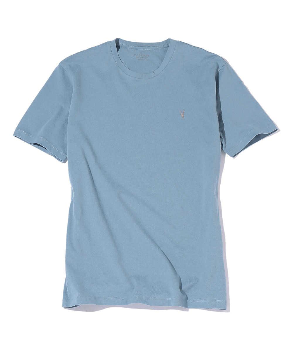 ベーシックコットンクルーネックTシャツ