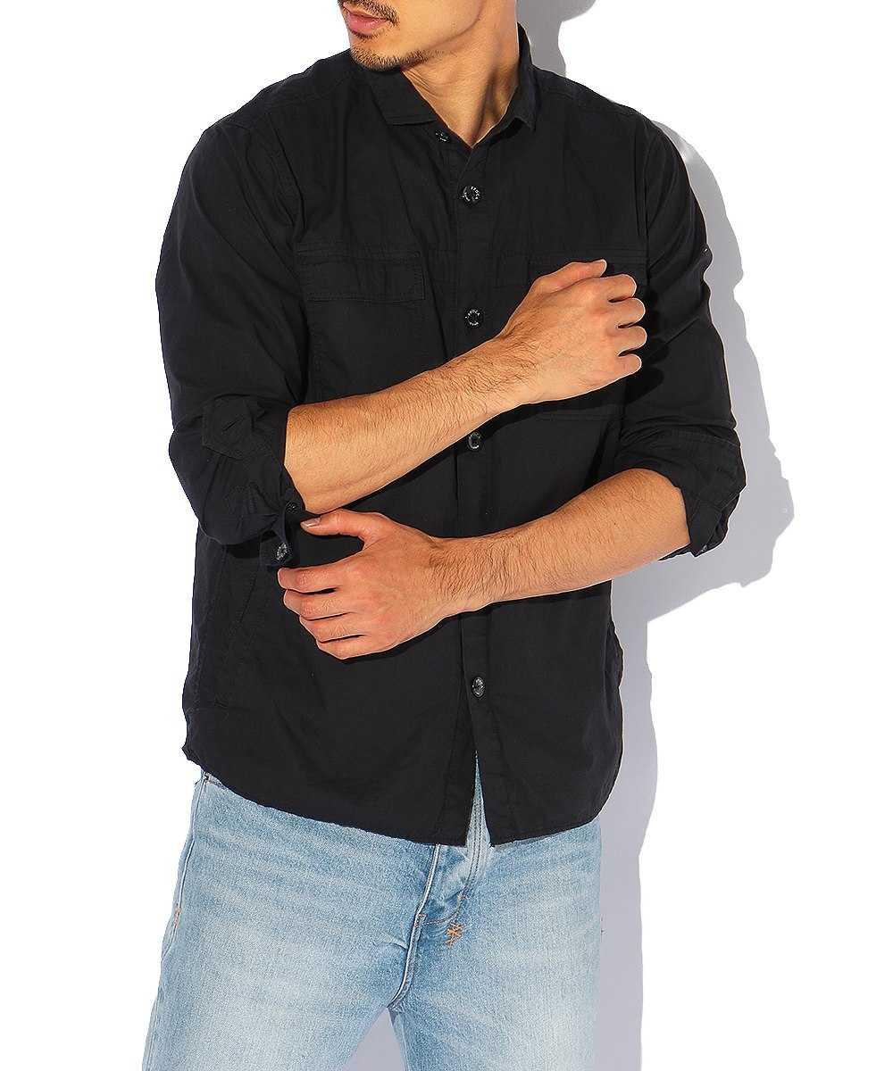 コットンシャツジャケット