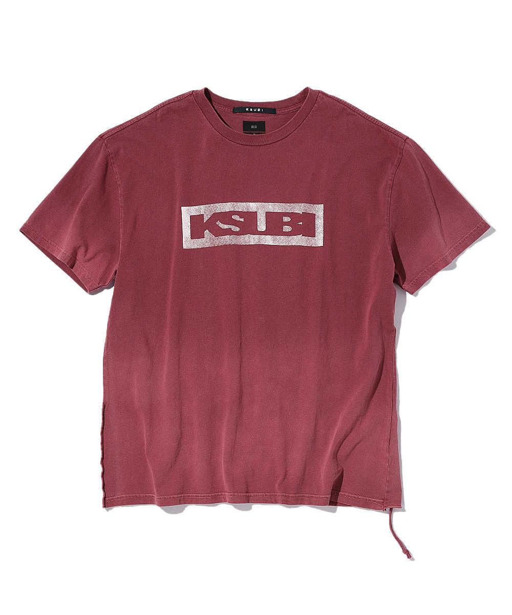 ボックスロゴクルーネックTシャツ