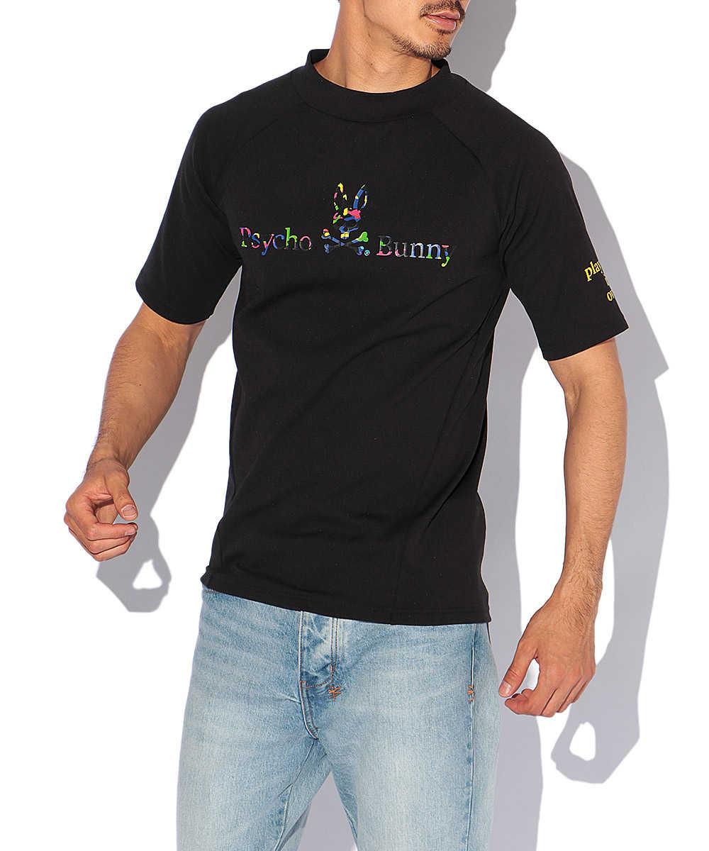 マルチカモバニーモックネックTシャツ