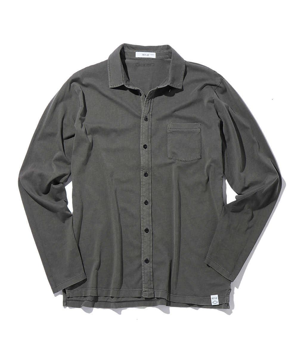 オーガニックコットンジャージーシャツ