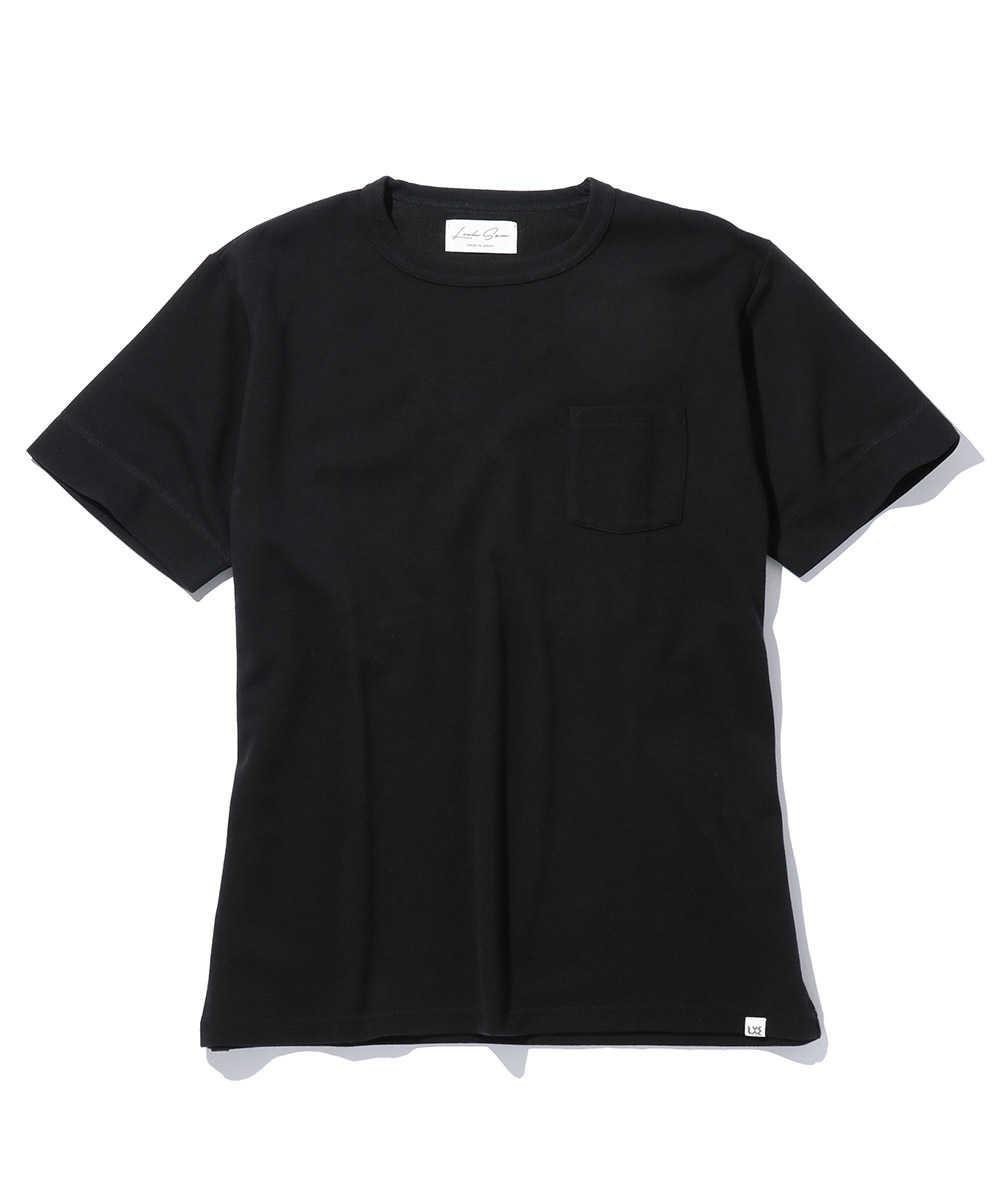 シルクコットンポケットクルーネックTシャツ