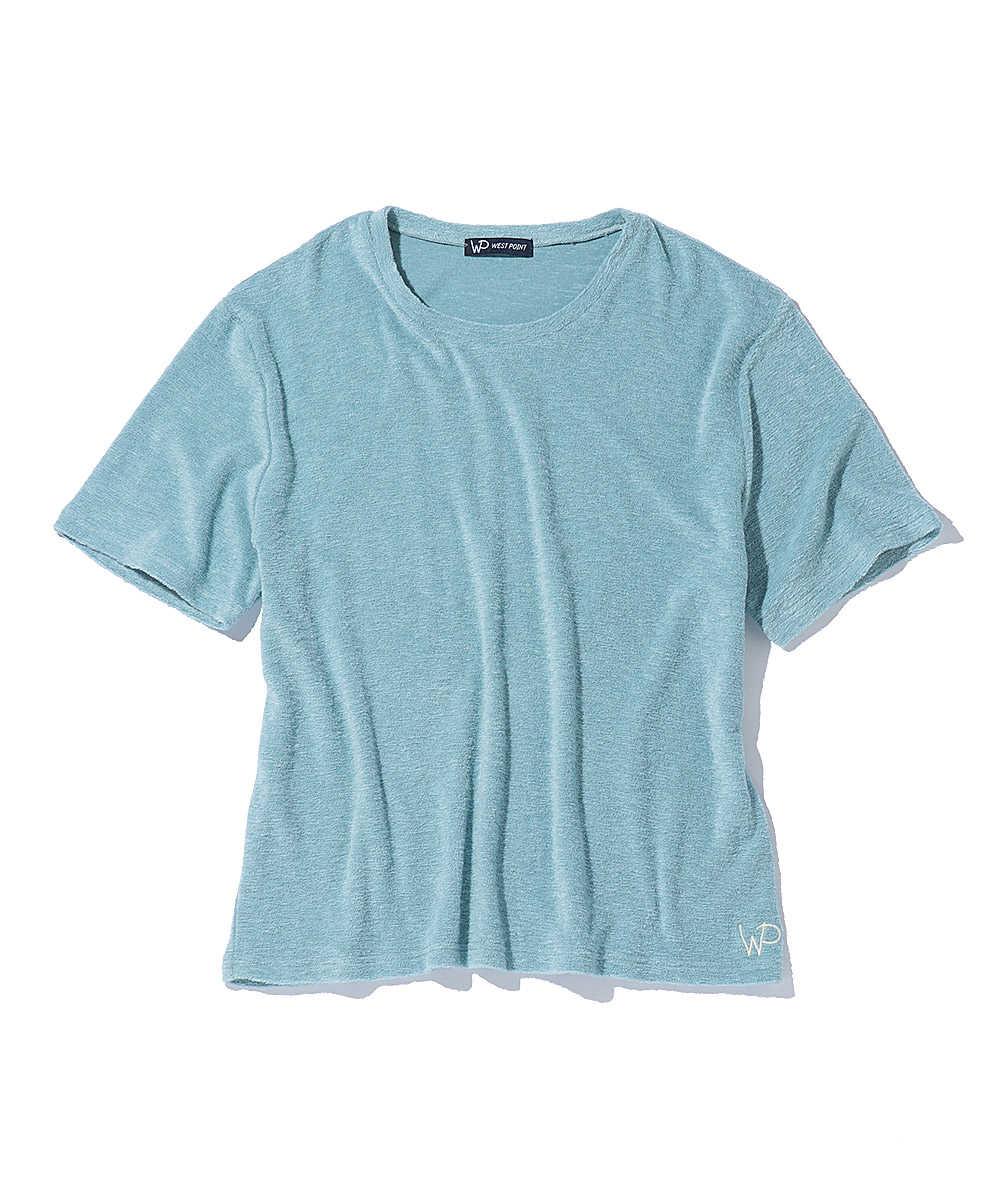 【限定販売】パイルクルーネックTシャツ