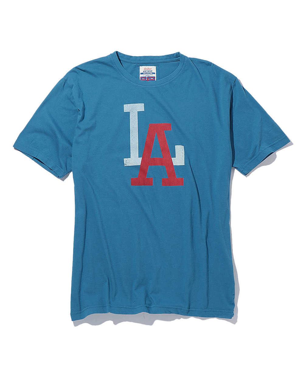 マイナーリーグプリントクルーネックTシャツ
