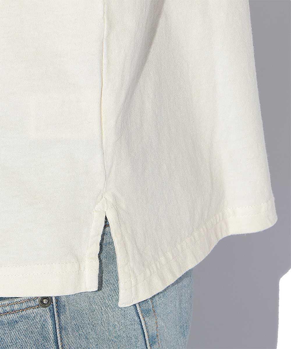 ギアポケットピグメントクルーネックTシャツ