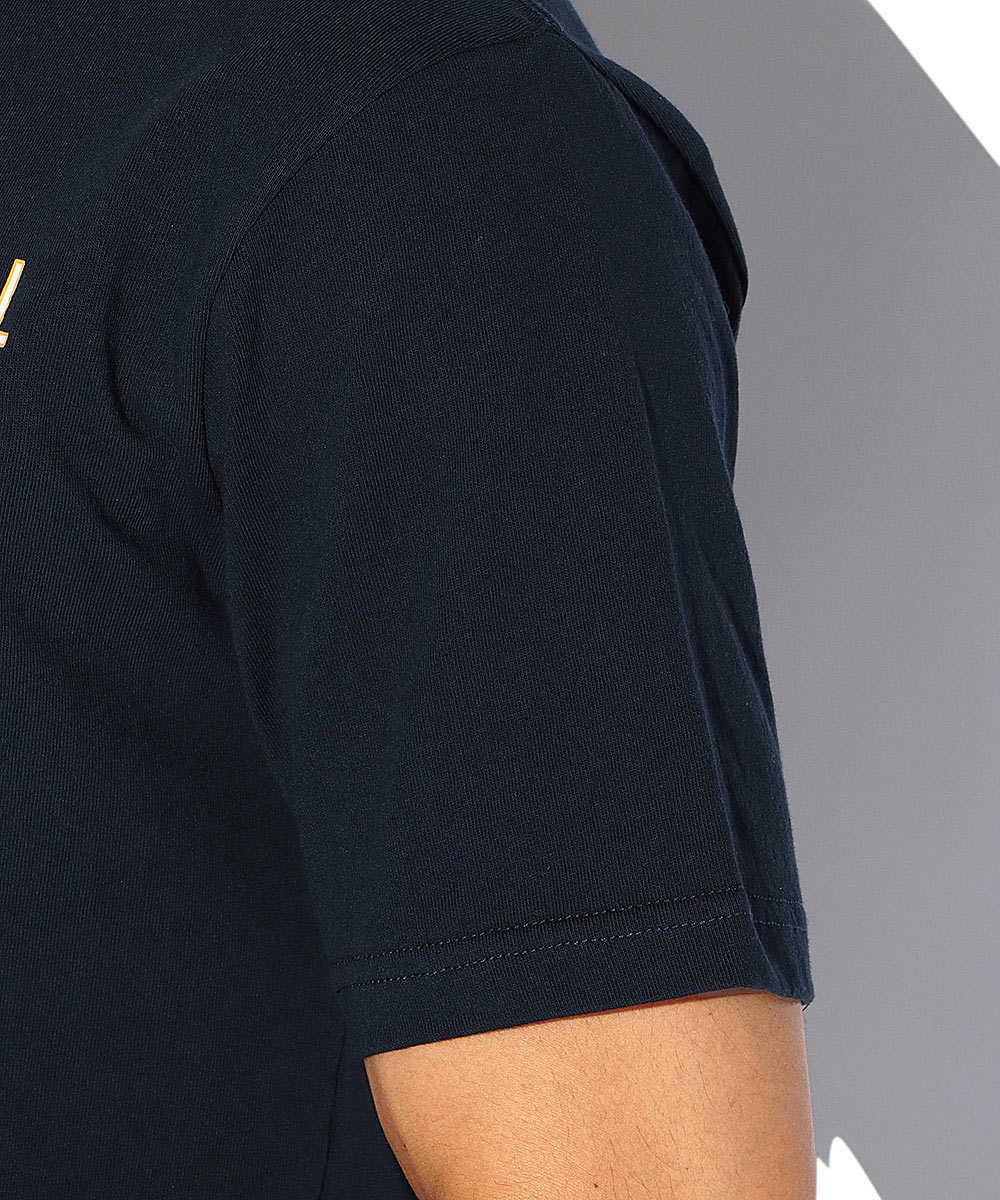 カレッジプリントクルーネックTシャツ