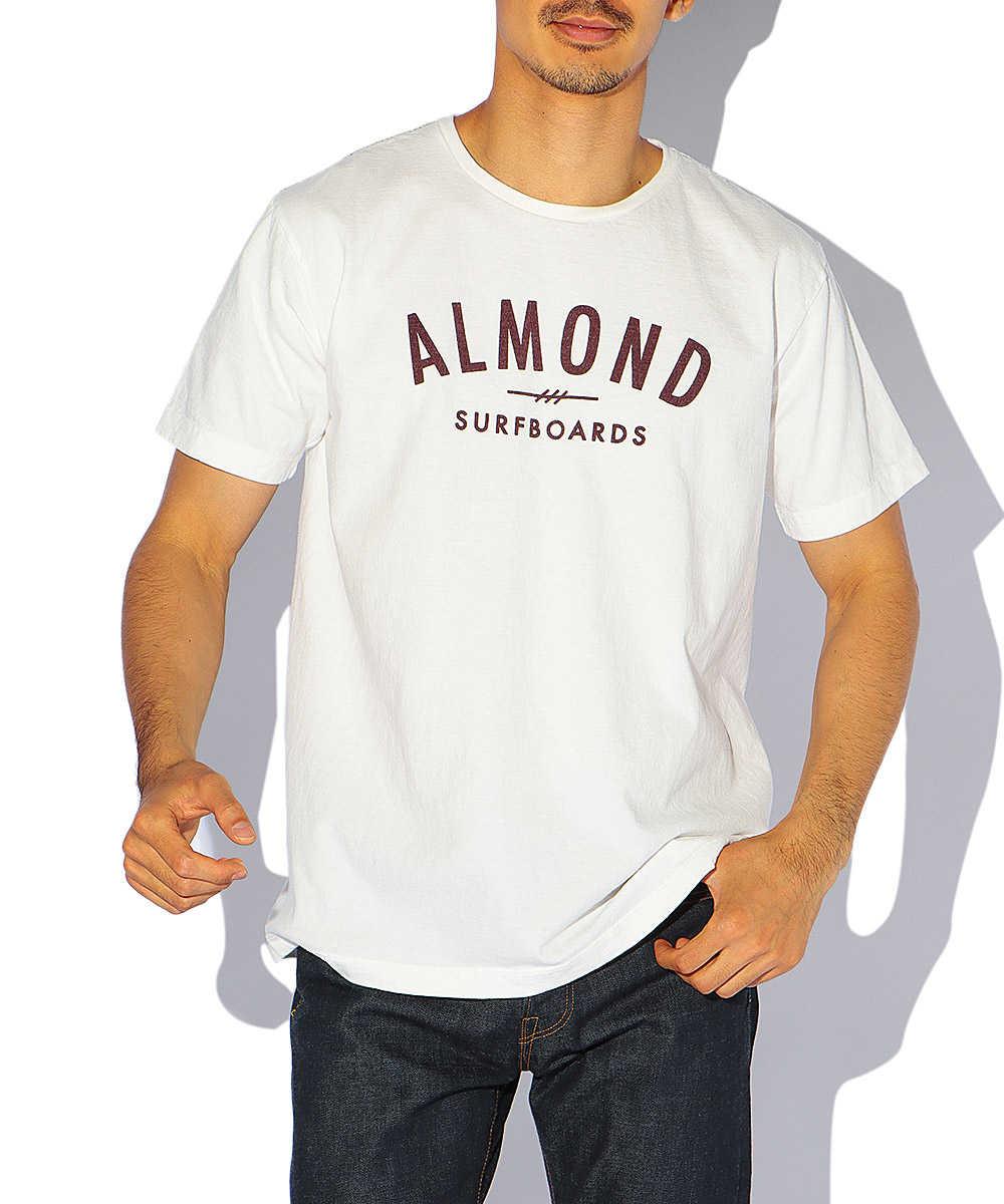 アーチロゴクルーネックTシャツ
