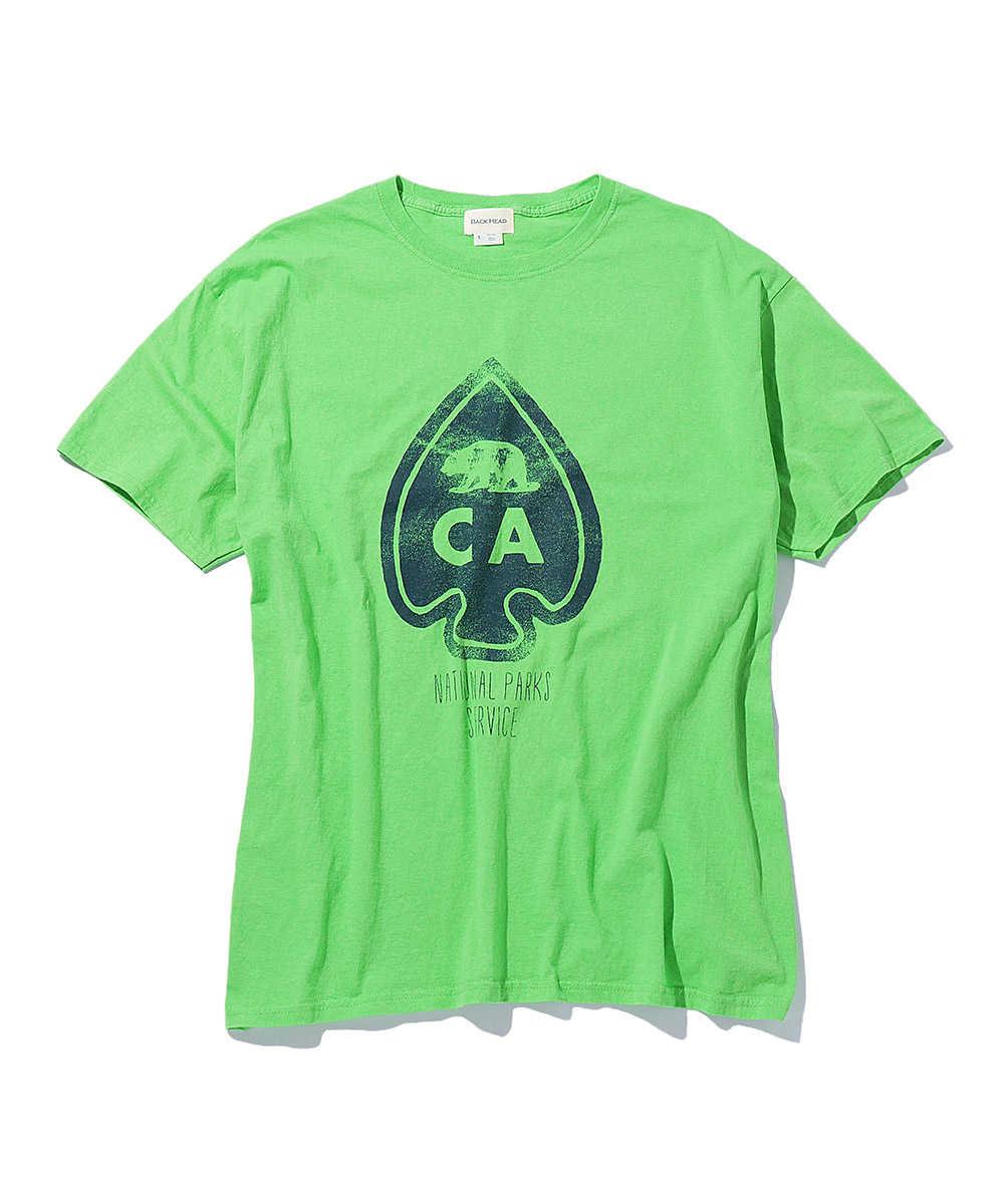 ヴィンテージプリントクルーネックTシャツ