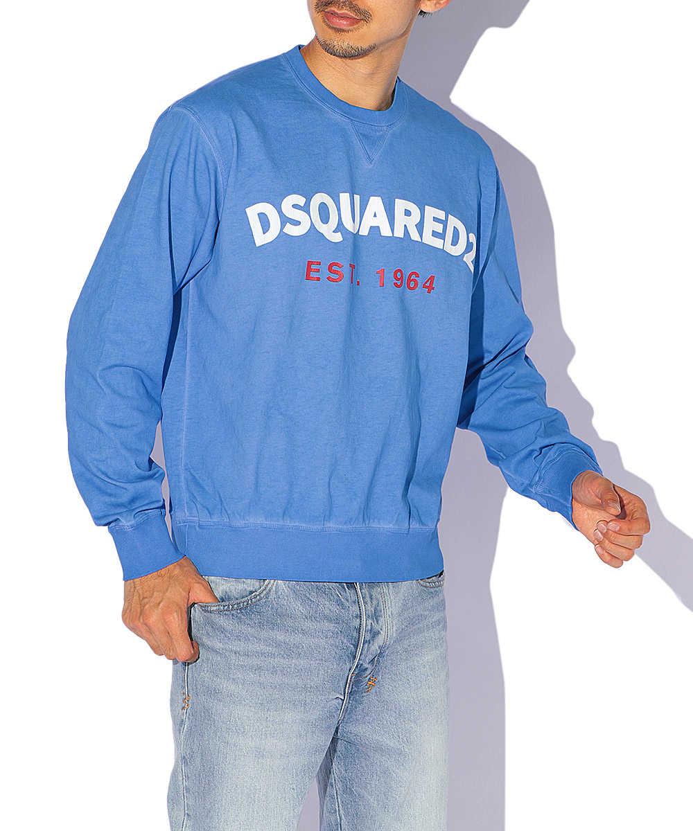 フロントロゴスウェットシャツ