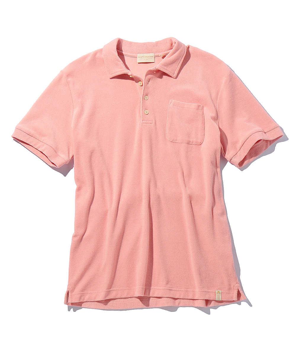 【限定商品】パイルポロシャツ