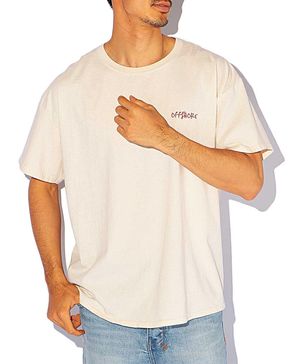 【別注・限定商品】バックプリントクルーネックTシャツ