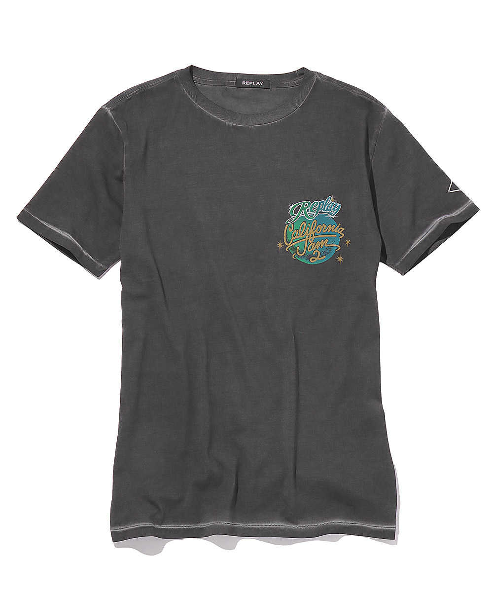 トロピカルナイトクルーネックTシャツ