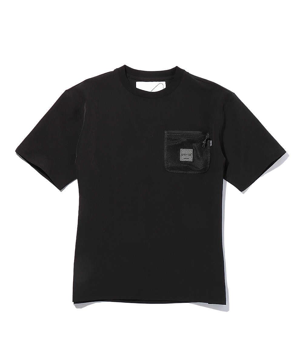 【ブラックレーベル】シェルテッククルーネックTシャツ