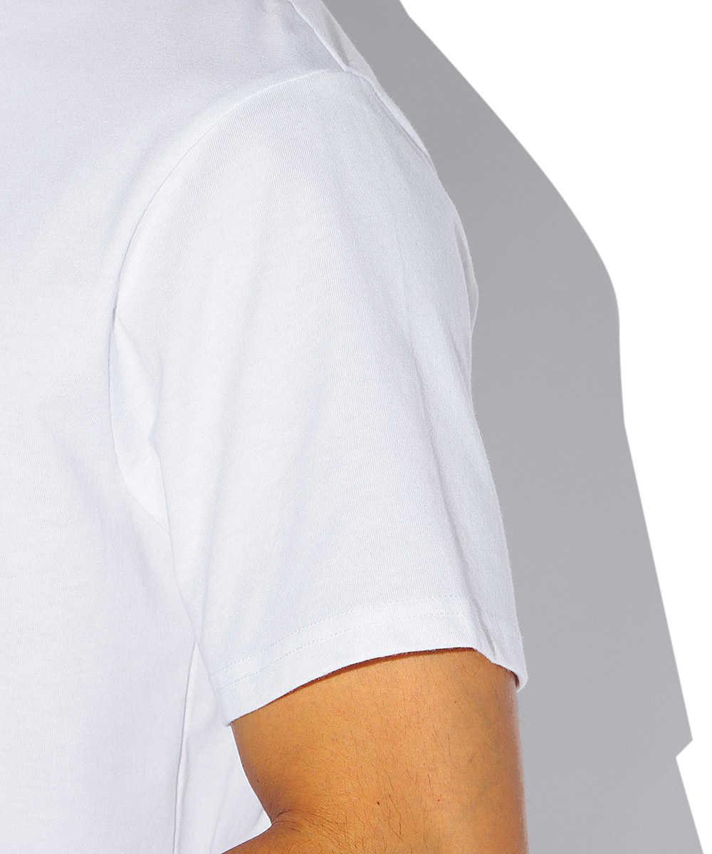【ブラックレーベル】CVC シンプル立体ロゴクルーネックTシャツ