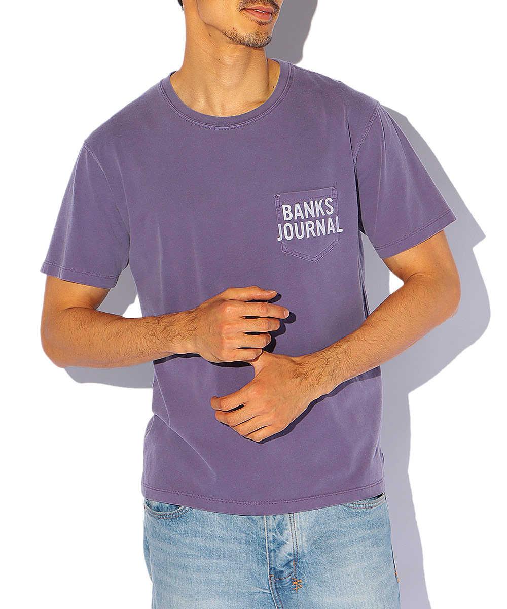 【5月中旬入荷予定】ポケットクルーネックTシャツ