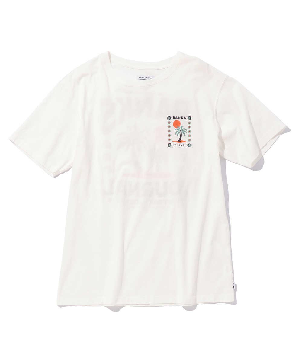 【5月中旬入荷予定】バックプリントクルーネックTシャツ