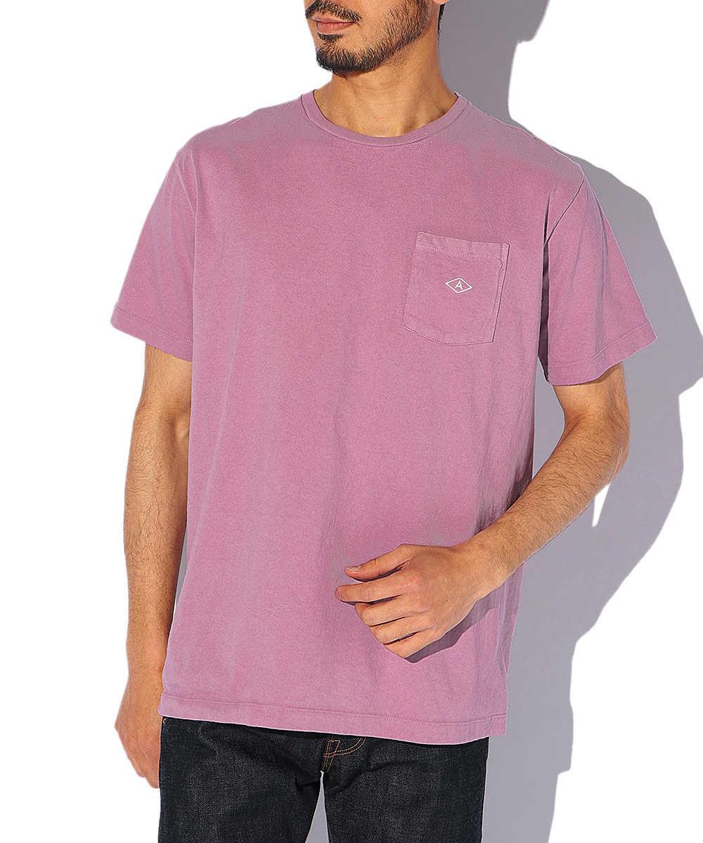 ロゴポケットクルーネックTシャツ
