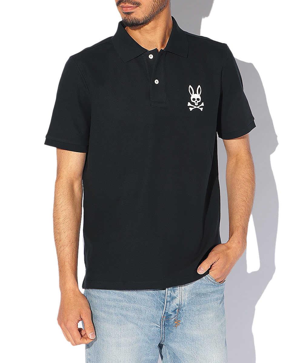 ハンドライトロゴ ポロシャツ